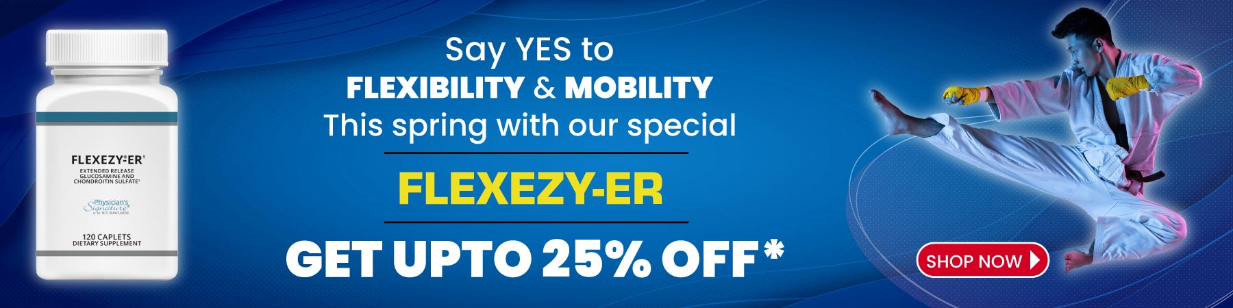 Flexezy-ER 25% off