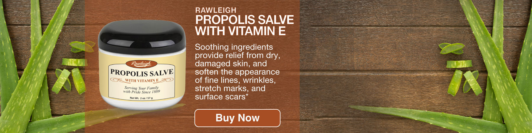 Propolis Salve with Vitamin E