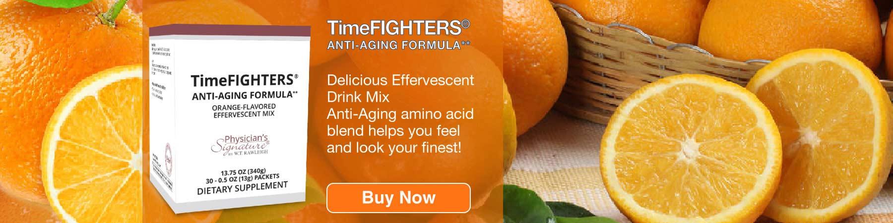 Timefighters Orange Drink