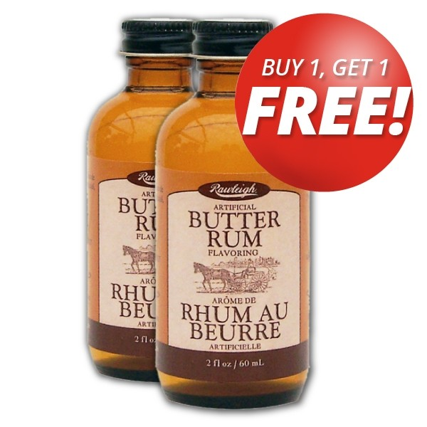 Buy 1 Get 1 Free! Rawleigh Butter Rum Flavoring: 2 fl oz