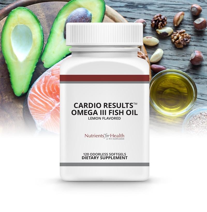 Cardio Results™ Omega III Fish Oil: 120 odorless softgels