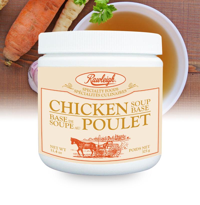 Rawleigh Chicken Soup Base: 11.4 oz