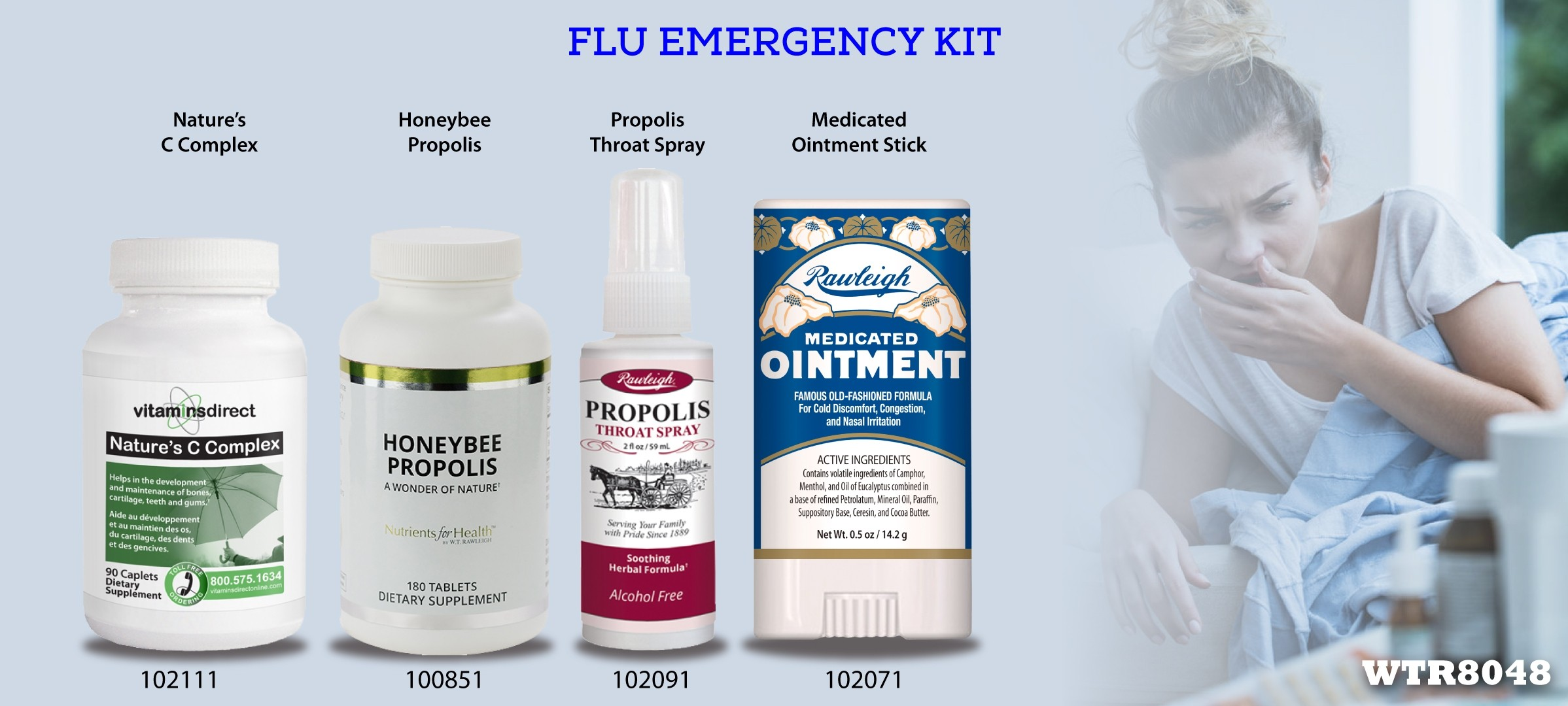 Flu Emergency Pack