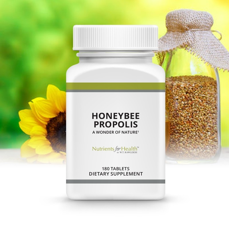 Honeybee Propolis: 180 Tablets
