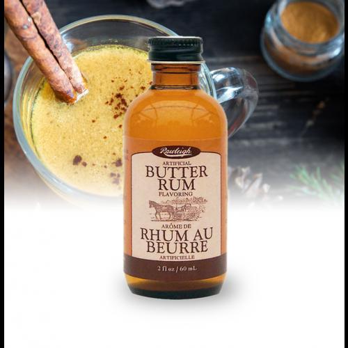 Rawleigh Butter Rum Flavoring: 2 fl oz