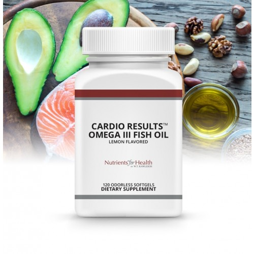 Cardio Results™ Omega III Fish Oil: 120 odorless softgels