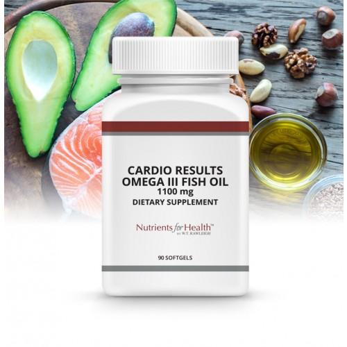 Cardio Results Omega III Fish Oil 1100 mg