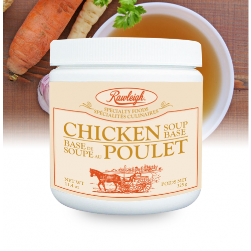 Rawleigh Chicken Soup Base: 11.4 oz