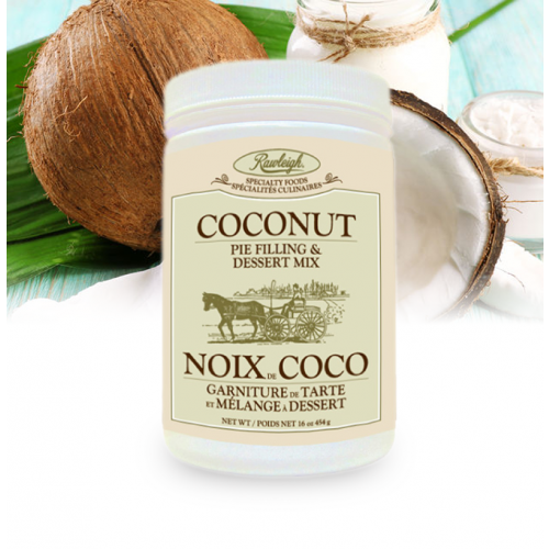 Rawleigh Coconut Dessert Mix: 16 oz
