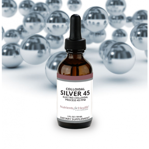 Colloidal Silver 45: 2 fl oz