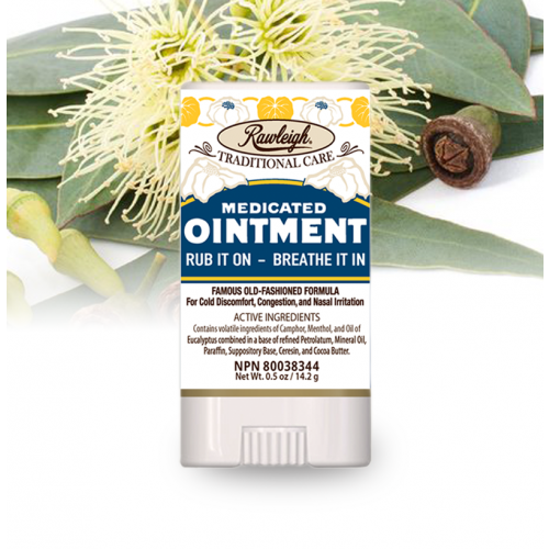 Rawleigh Medicated Ointment Stick: .5 oz