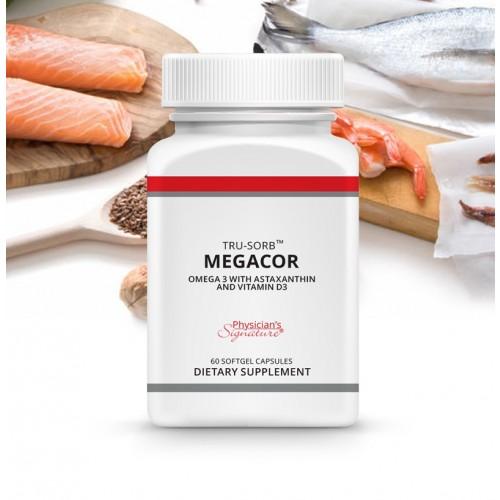 Tru-Sorb® MEGACOR: 60 softgels