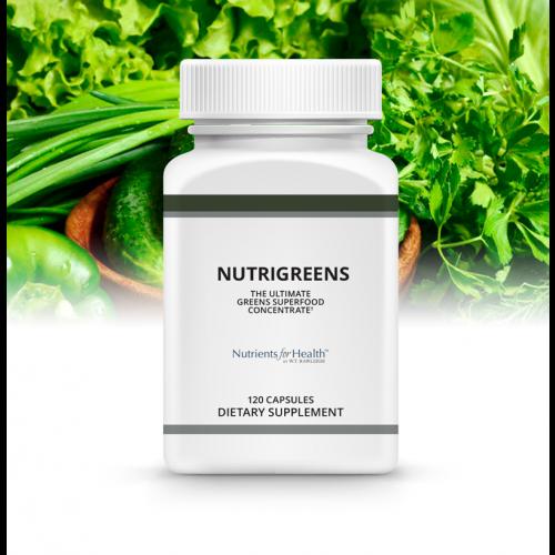 NutriGreens: 120 capsules