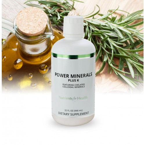 Power Minerals Plus K: 32 fl oz