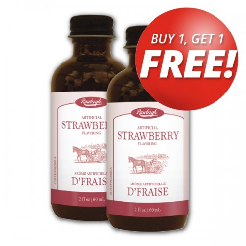 Buy 1 get 1 Free! Rawleigh Strawberry Flavoring: 2 fl oz