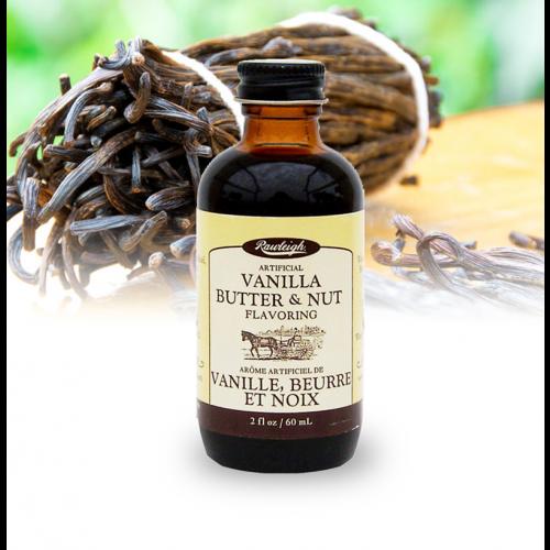 Rawleigh Vanilla, Butter & Nut Flavoring: 2 fl oz