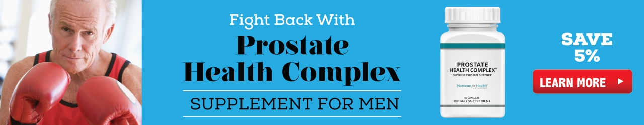 Save 5% Off Of Prostate Health Complex!