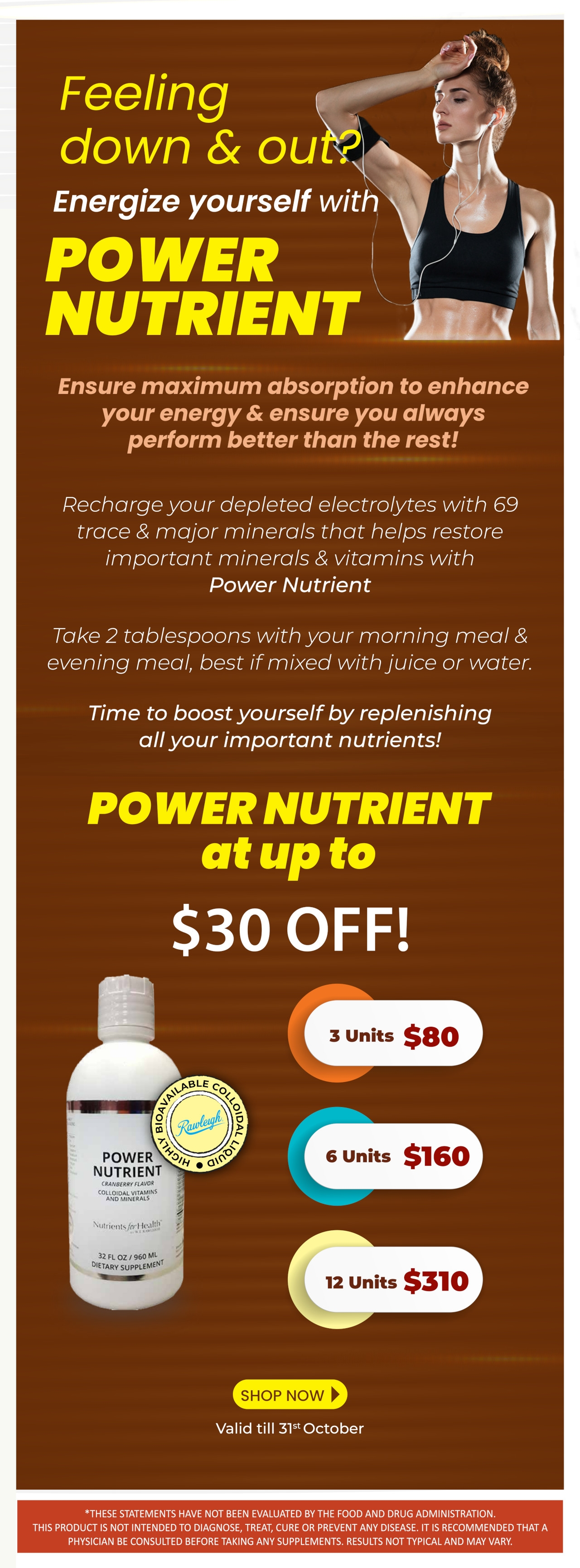 Special Offer on Power Nutrient!