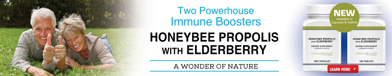 Save Money Off Of Honeybee Propolis with Elderberry Today!