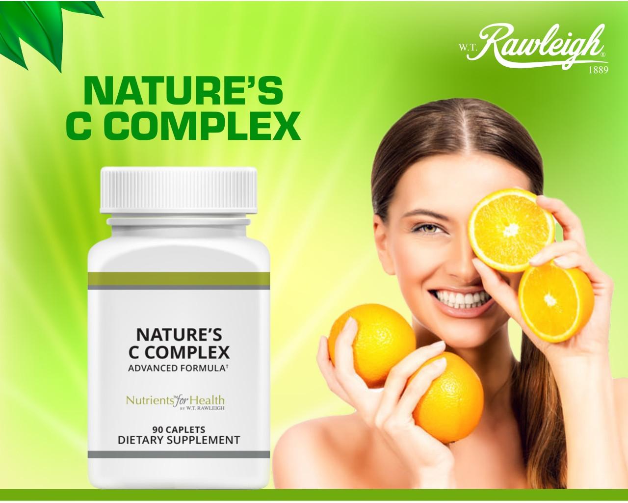 Save 10% on Nature's Vitamin C Complex!